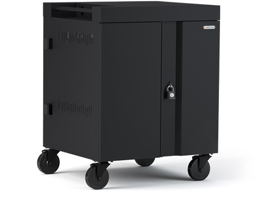 Cube Cart Side Black Pumice